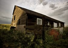 Abandoned Farm House Royalty Free Stock Photography