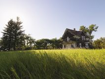 Abandoned farm house. Stock Photography