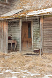 Abandoned Farm House. Close up of an abandoned farm house Stock Photography