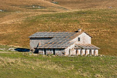Abandoned Farm House - Lessinia Italy Stock Image