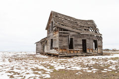 Abandoned farm house, Sierra Valley, California Royalty Free Stock Images