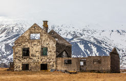 Abandoned farm in Iceland Royalty Free Stock Images