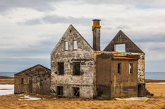 Abandoned farm in Iceland Royalty Free Stock Image