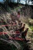 Abandoned farm machinery Stock Photography
