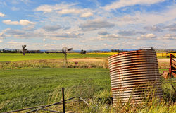 Abandoned farm in rural Australia Royalty Free Stock Images