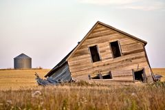 Abandoned Farmhouse Royalty Free Stock Photo