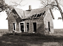 Abandoned farmhouse Royalty Free Stock Images