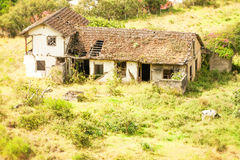 Abandoned Farmhouse In Andes Royalty Free Stock Photo