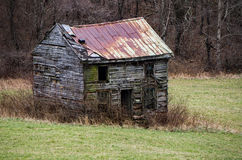 Abandoned Farmhouse Stock Photo