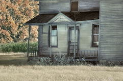 Abandoned Farmhouse Porch Stock Image
