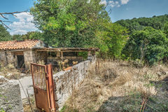 Abandoned farmhouse in Sardinia Stock Images