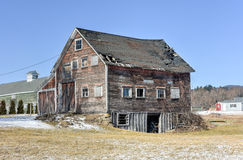 Abandoned Farmhouse - Vermont Stock Images