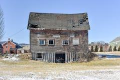 Abandoned Farmhouse - Vermont Royalty Free Stock Photo