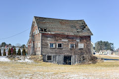 Abandoned Farmhouse - Vermont Royalty Free Stock Photography