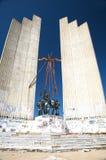 Abandoned fascist monument Royalty Free Stock Photos