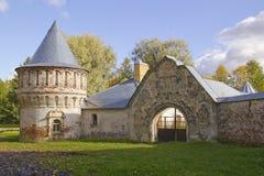 Abandoned Feodorovsky gorodok in Tsarskoye Selo, St.Petersburg, Stock Image