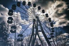 Abandoned  ferring wheel Stock Image