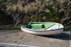 Abandoned fishing boat Stock Photography
