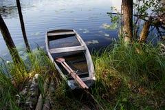 Abandoned fishing boat Royalty Free Stock Images