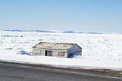 Abandoned fishing shed Royalty Free Stock Image