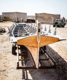 Abandoned fishing village in Ras Al Khaimah royalty free stock image