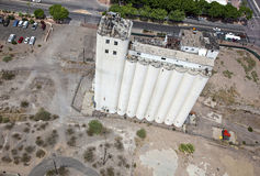 Abandoned Flour Mill Stock Photos