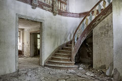 Abandoned and forgotten manor house Royalty Free Stock Photography