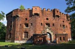 Abandoned Fort Benedict, Krakow, Poland Stock Photos