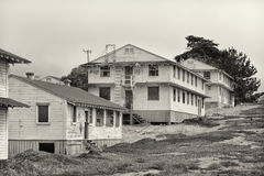 Abandoned Fort Ord Army Post Royalty Free Stock Images