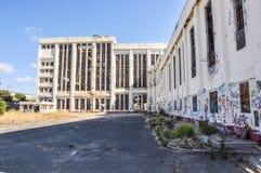 Abandoned Fremantle Power Station: Western Australia Stock Photos