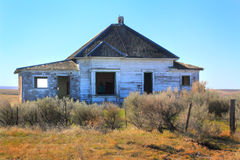 Abandoned Frontier Dwelling stock photo