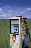 Abandoned fuel pump Royalty Free Stock Images