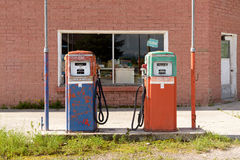 Abandoned Fuel Pump Royalty Free Stock Image