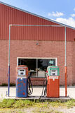 Abandoned Fuel Pump Stock Photography