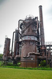 Abandoned Gas Production Plant Royalty Free Stock Photo