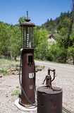 Abandoned Gas Pump Stock Images