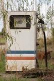 Abandoned gas pump Royalty Free Stock Photos