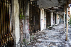 Abandoned ghost city Stock Photography