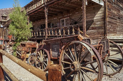 An abandoned  ghost town Calico, Stock Photography
