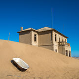 Abandoned ghost town of Kolmanskop, Namibia Royalty Free Stock Photo