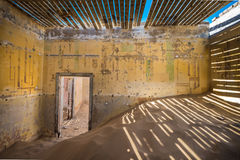 Abandoned ghost town of Kolmanskop, Namibia Stock Images