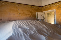 Abandoned ghost town of Kolmanskop, Namibia Royalty Free Stock Photography