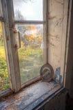 Abandoned glömt hus Arkivfoto