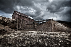 Abandoned Gold Mine in Colorado Royalty Free Stock Photos