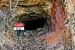Abandoned Gold Mine Royalty Free Stock Photography