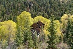 Abandoned Gold Mine Royalty Free Stock Photo