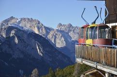 Abandoned gondolas Stock Photo