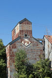 An Abandoned Grain Elevator and Feed Mill Royalty Free Stock Photo