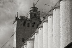 Abandoned grain elevator Stock Photography