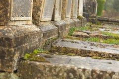 Abandoned graves Stock Photo